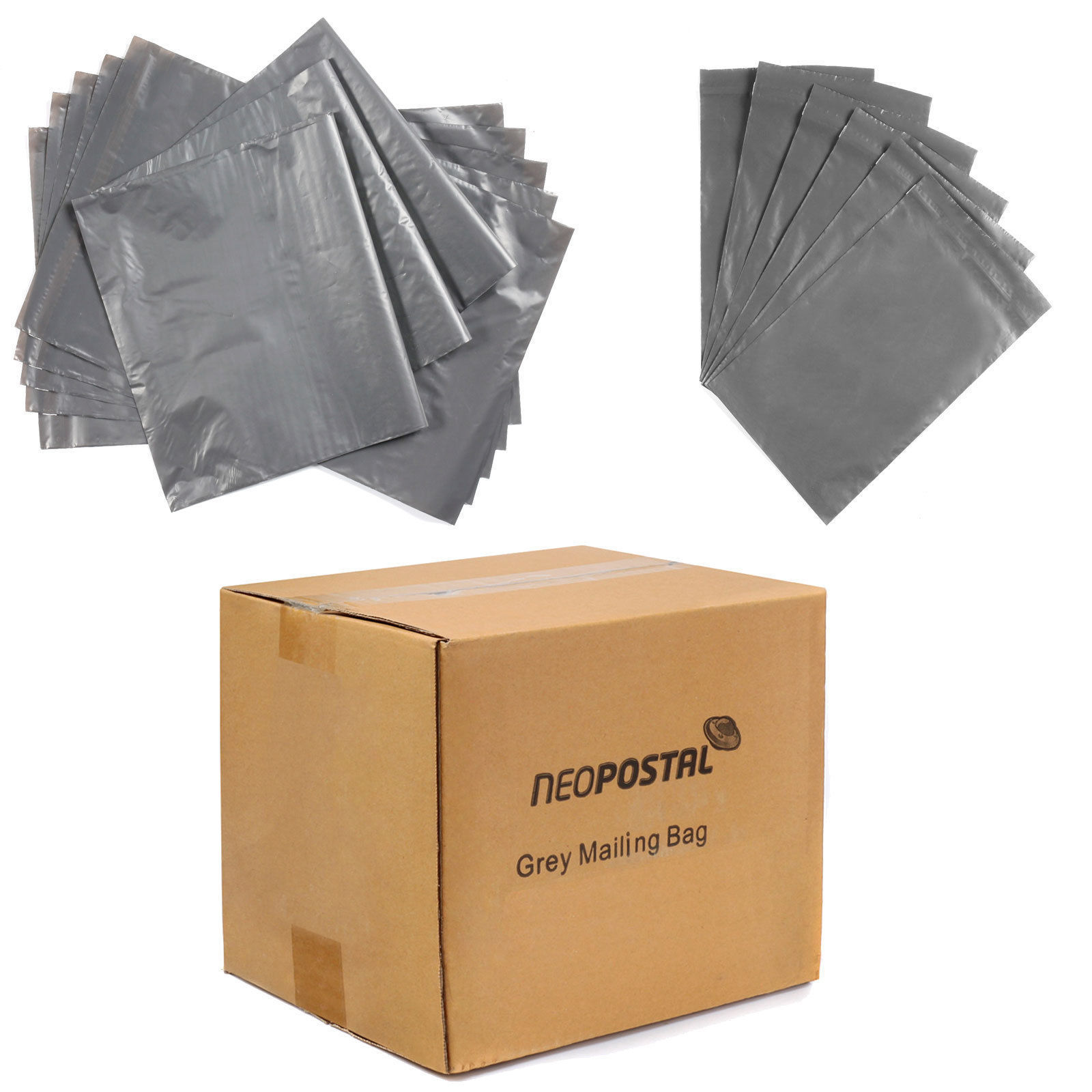 9761ec64ab61 Strong Grey Plastic Mailing Post Poly Postage Bags with Self Seal ALL  SIZES. Self Sealing Grey Opaque Poly Postal Mail bags